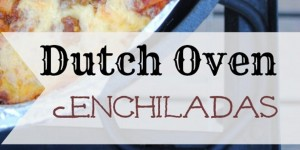 How-to: Dutch Oven Enchiladas