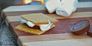 Peanut Butter Slam S'more