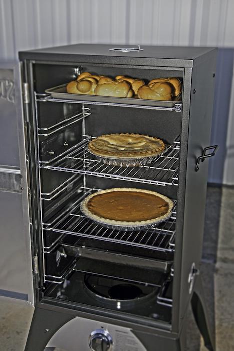 Baking in the Smoke Vault