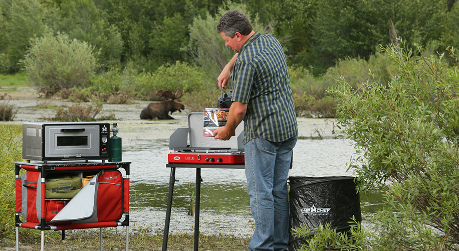Using Your Stove at the Campsite