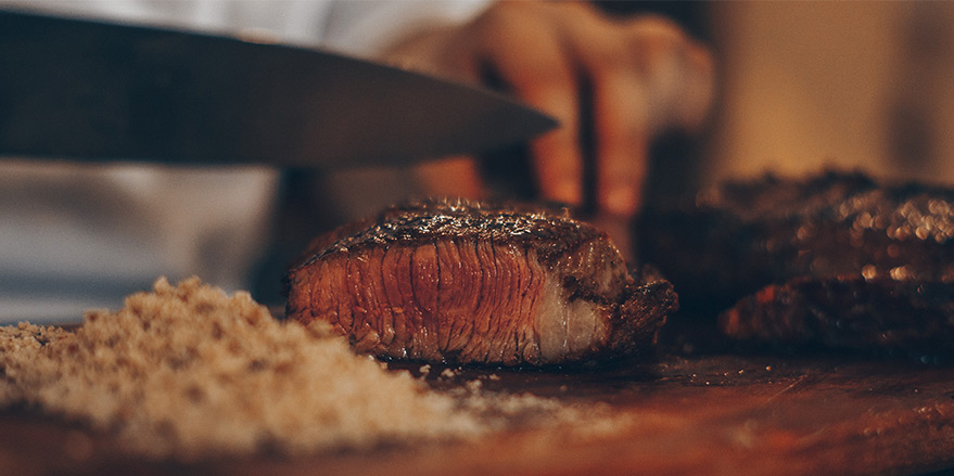 Grilling the perfect steak