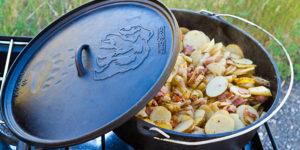 Dutch Oven Potatoes