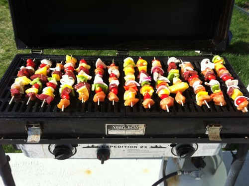 Shish Kabobs on a BB60X