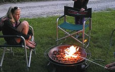 Wood & Gas Fire Pits