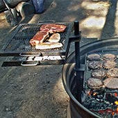 Over Fire Grills