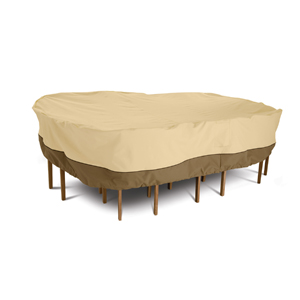 Classic Accessories Veranda Round Patio Table & Chair Cover