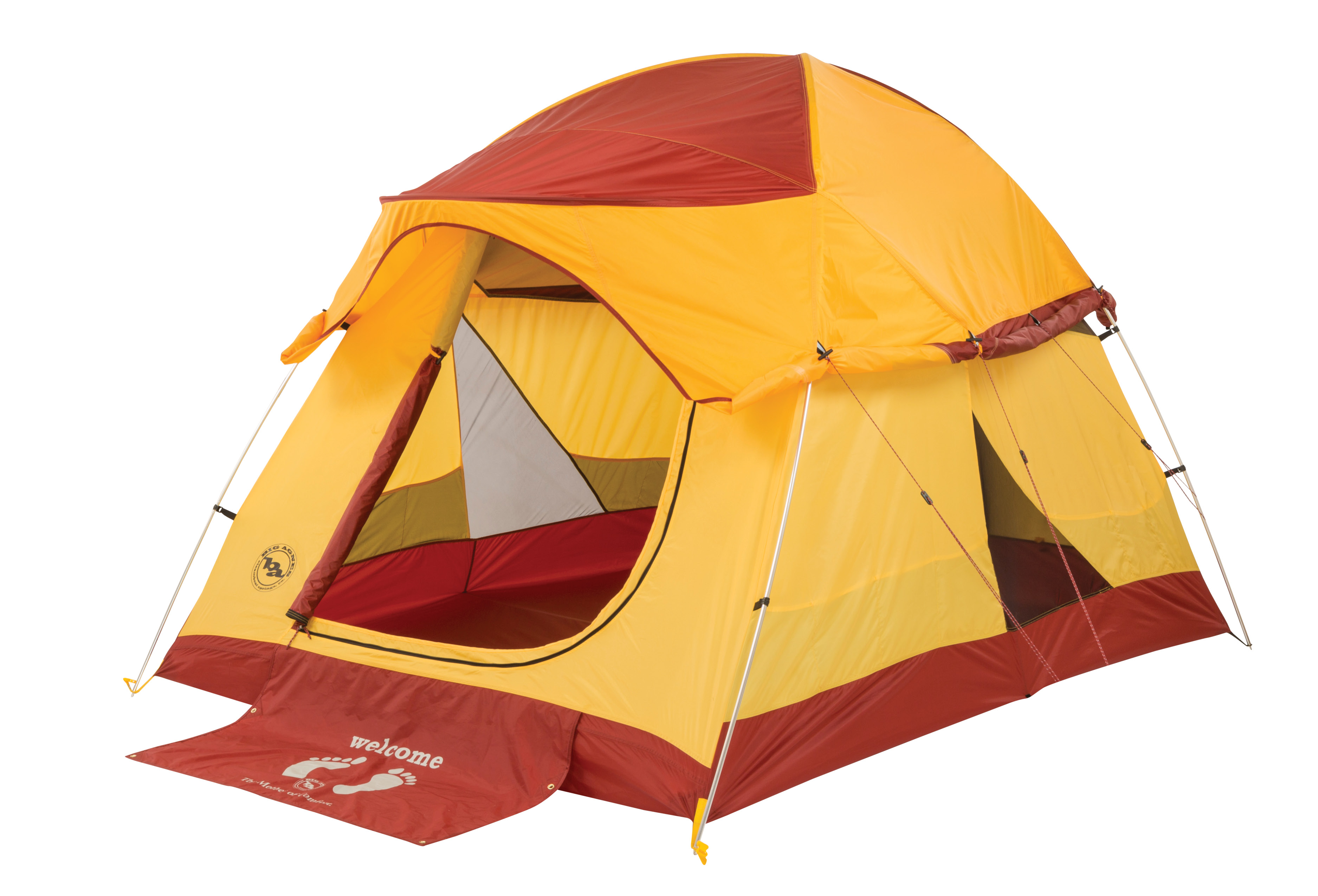 how to set up a coleman 6 person tent