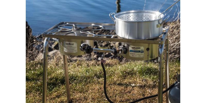 Camp Chef Explorer Ss Two Burner Propane Stove