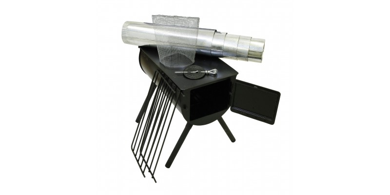 Alpine heavy duty cylinder stove for Alpine cuisine meat grinder