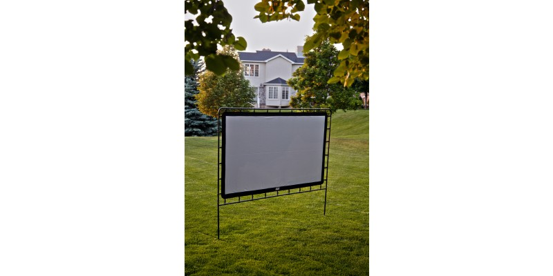 Camp Chef Indoor Amp Outdoor Portable Movie Projection Screen