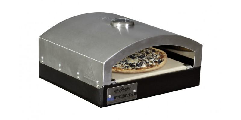 Camp Chef Explorer 2 Burner Stove With Pizza Accessory