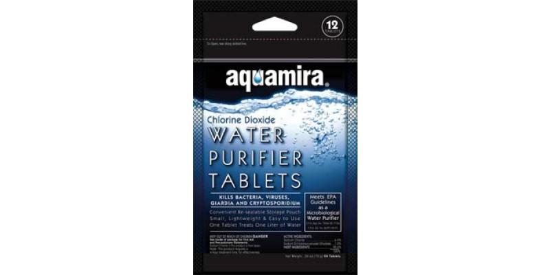 Aquamira Water Purifier Tablets 12pk
