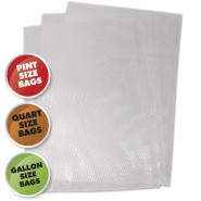 Weston Vacuum Sealer Bags, Variety Pack - 50 Count