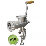 Weston Deluxe Manual Tinned Meat Grinder #10
