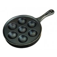 Cast Iron Aebleskiver Pan