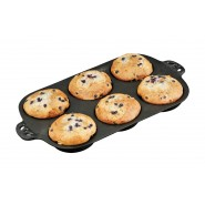 Camp Chef Cast Iron Muffin Toppers Biscuit Pan
