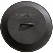"Camp Chef 12"" Seasoned Cast Iron Skillet Lid"