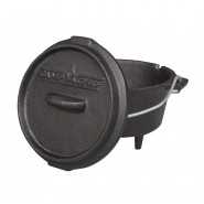 Camp Chef 3/4 Qt Seasoned Cast Iron Mini Dutch Oven