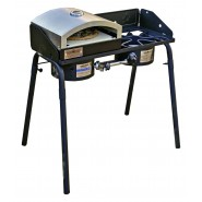Camp Chef Explorer 2 Burner Stove with Pizza Accessory