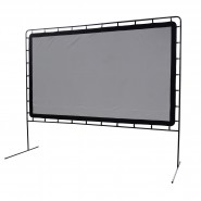 Outdoor Entertainment Gear Portable Movie Projection Screen