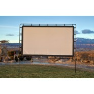 "Outdoor Entertainment Gear Outdoor Big Screen 92"" Lite Portable Movie Screen"