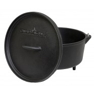 "Camp Chef 10"" Cast Iron Deep Dutch Oven"