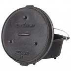 Camp Chef 12 Qt Seasoned Cast Iron Dutch Oven