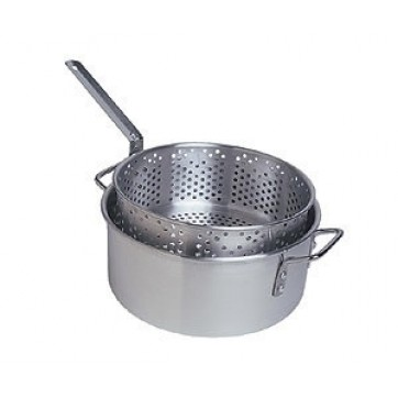 Camp Chef Aluminum Pot + Basket  //  10.5 Quart