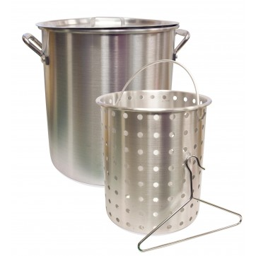 Camp Chef 24 Quart Aluminum Pot & Basket