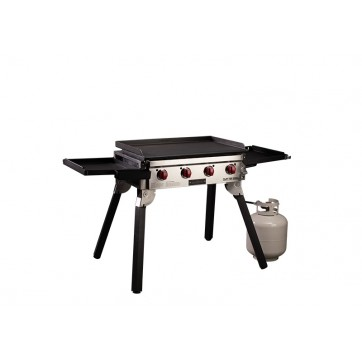 Camp Chef Portable Flat Top Grill  //  4 Burner