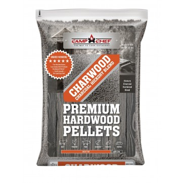 Charwood Charcoal Hickory Pellet Blend