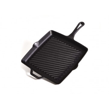 "11"" Square Skillet with Ribs"