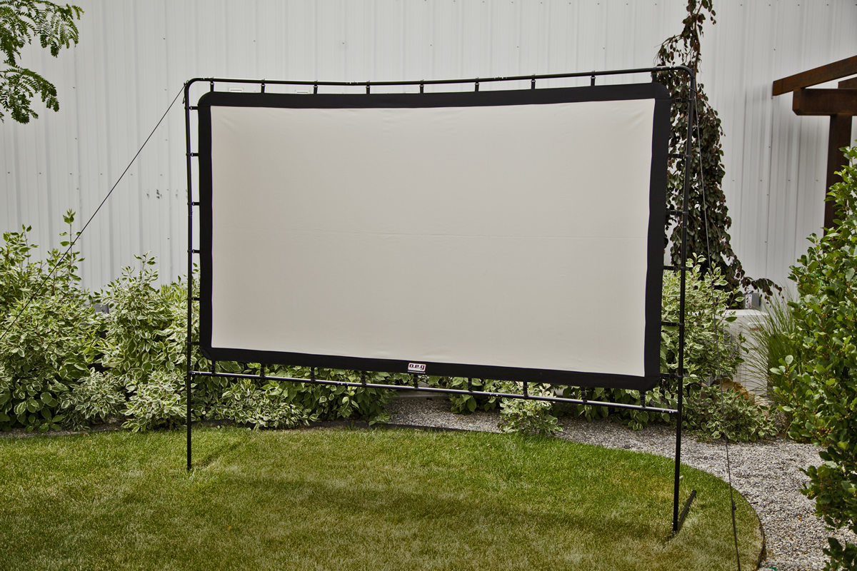 Portable Outdoor Screen : Responsive image