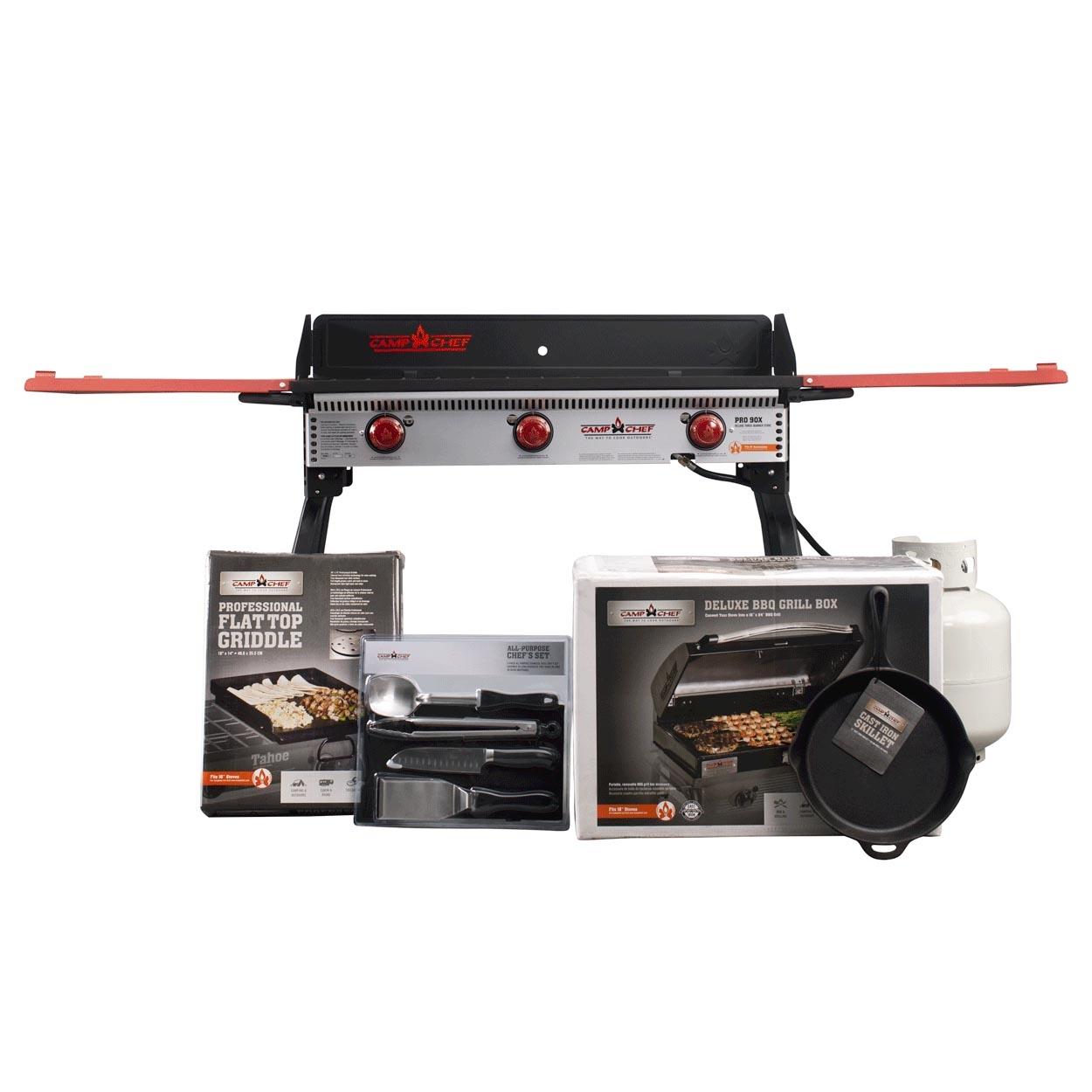 Camp Chef Pro90X Bundle