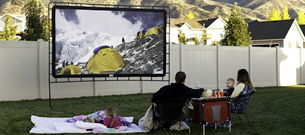 New! - Outdoor Big Screen