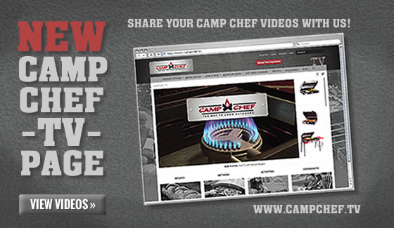 Camp Chef TV Page
