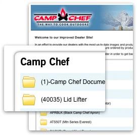 CampChef Dealer Portal